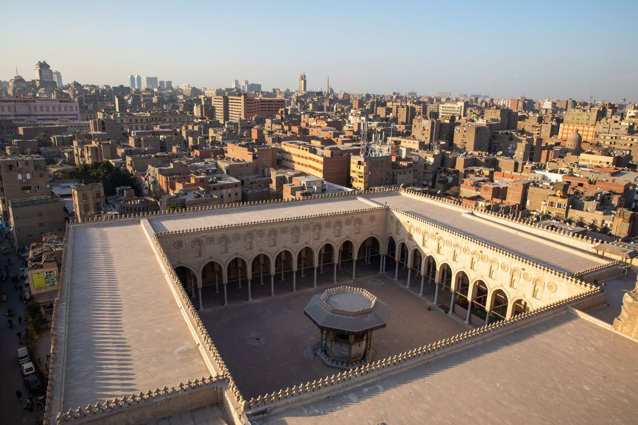 Overlooking Sultan al-Muayyad Mosque