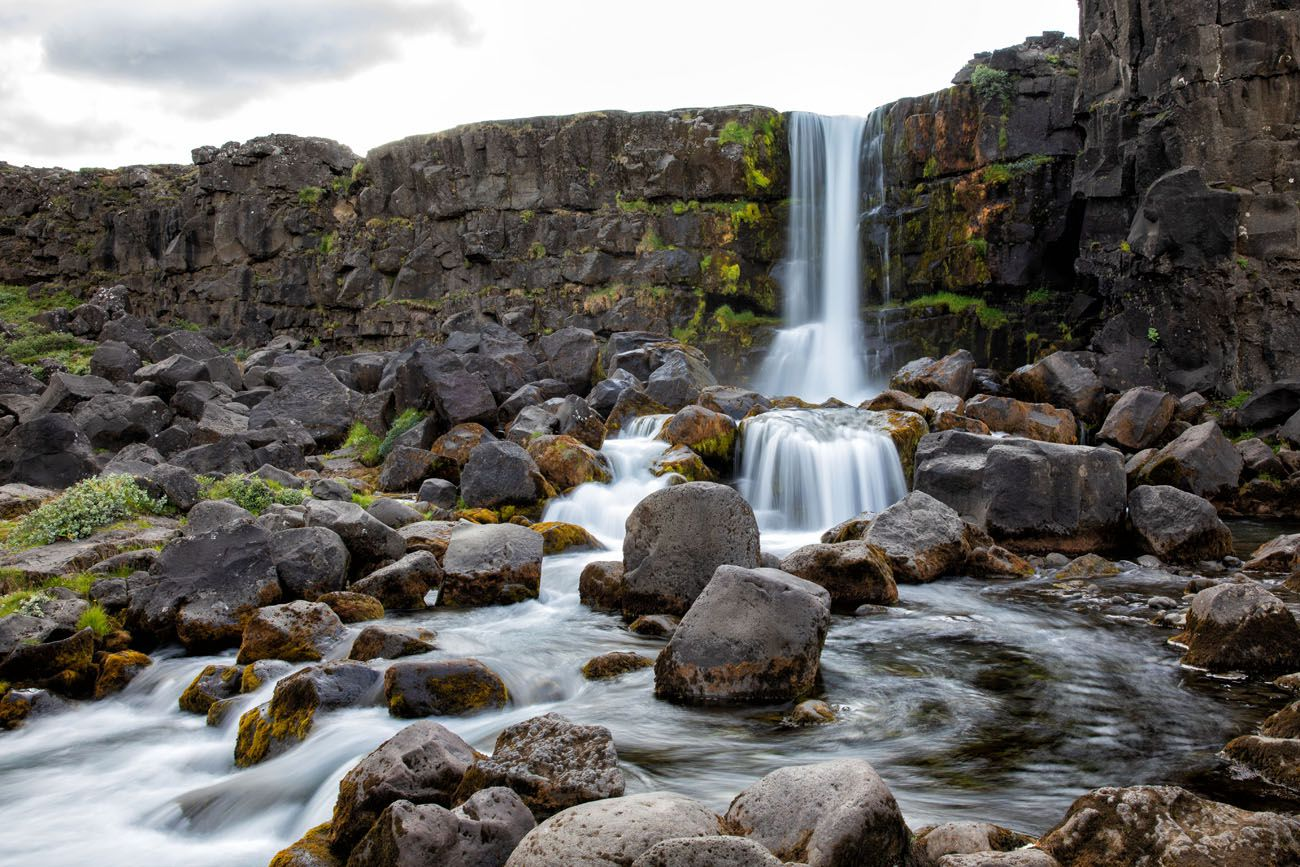 Oxararfoss Best Waterfalls in Iceland