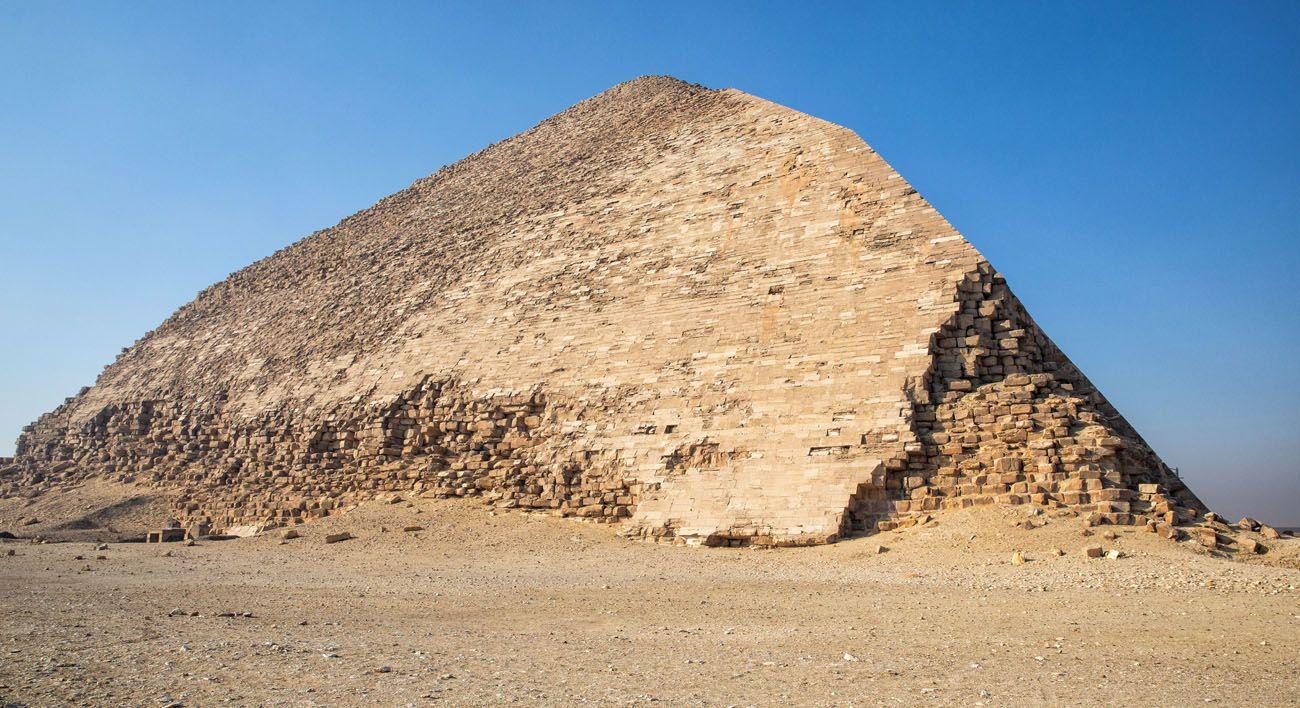 Pyramid Dahshur Memphis and Saqqara