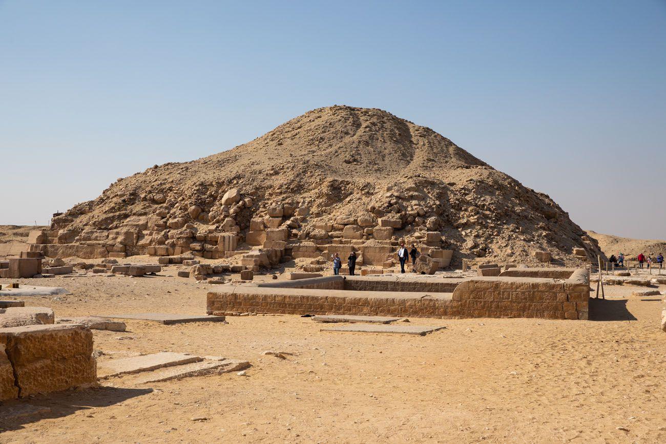 Pyramid of Unas Dahshur Memphis and Saqqara