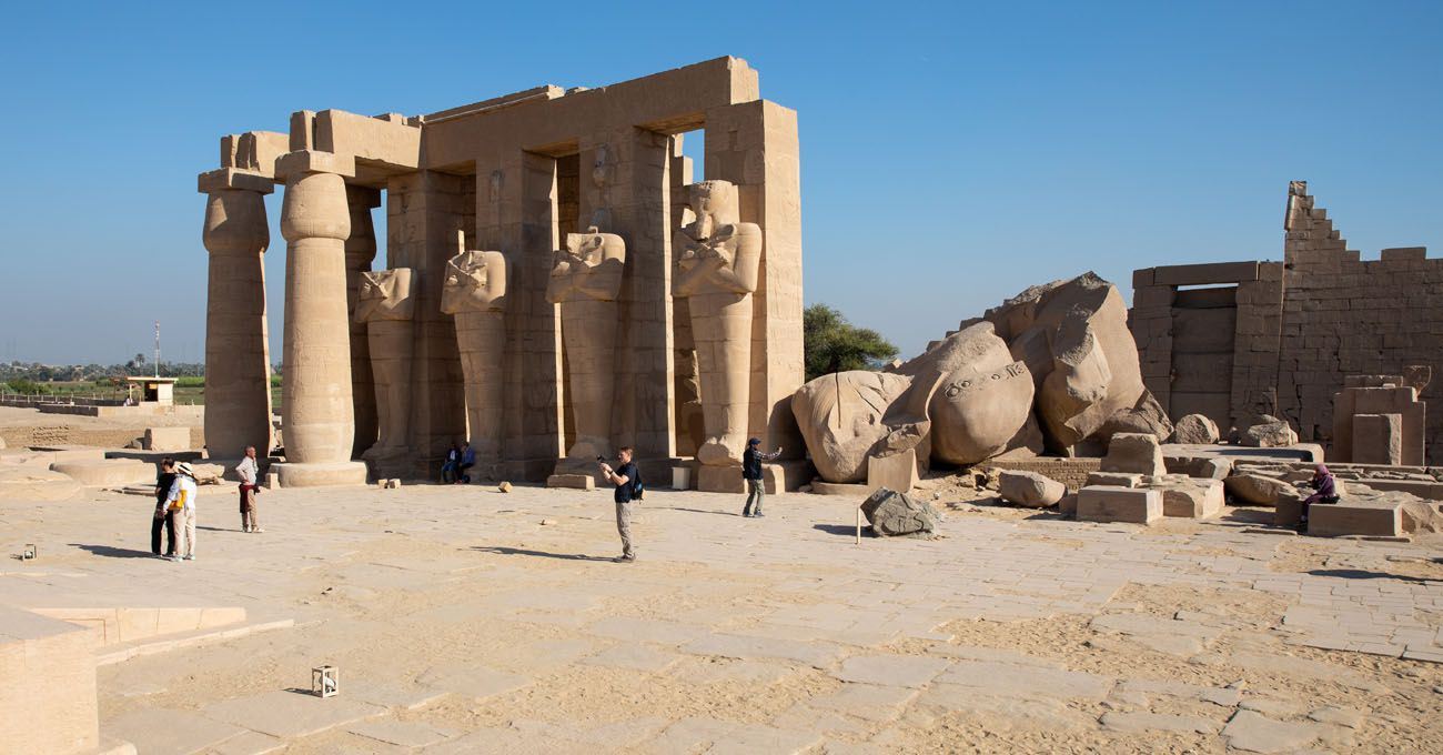 Ramesseum West Bank of Luxor