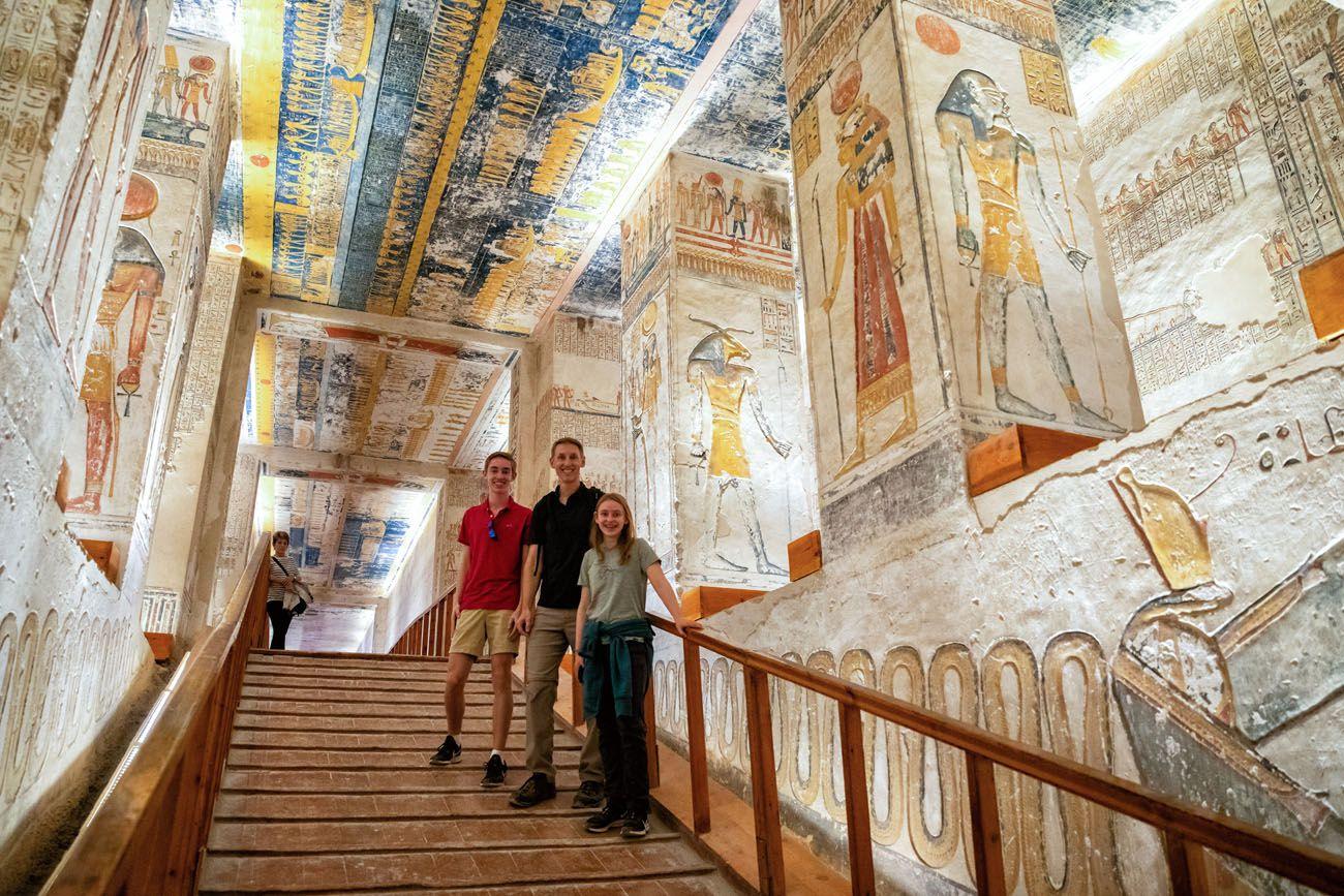 Ramses V VI Temple