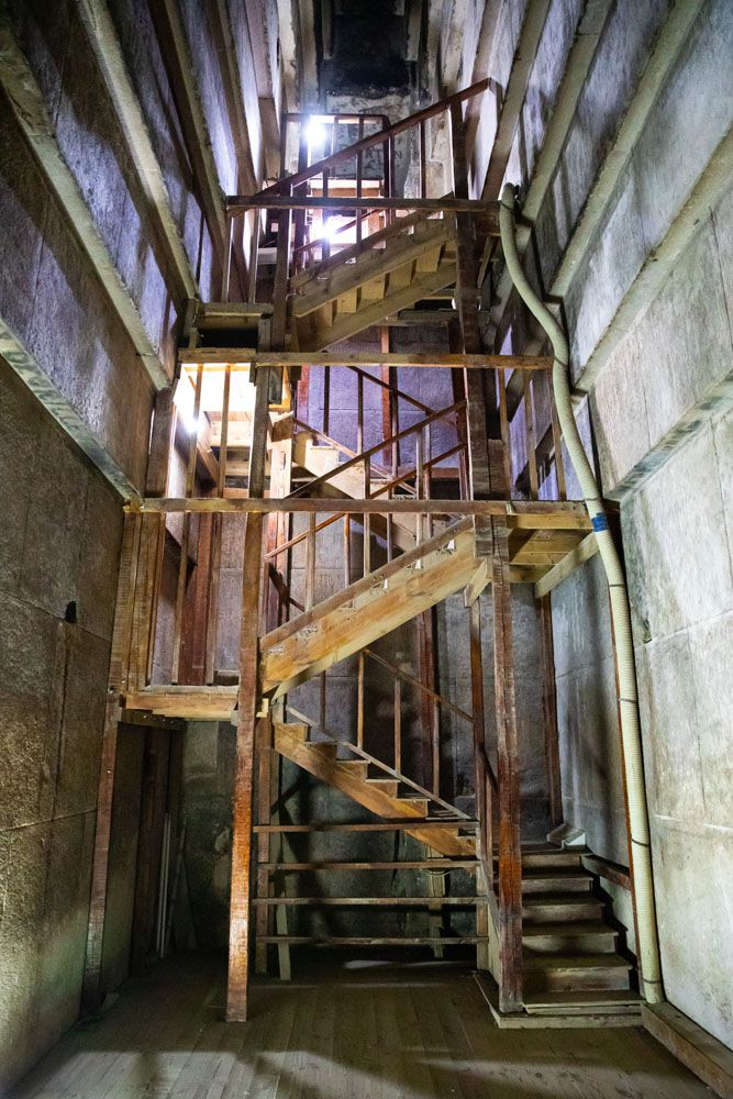 Red Pyramid Inner Staircase