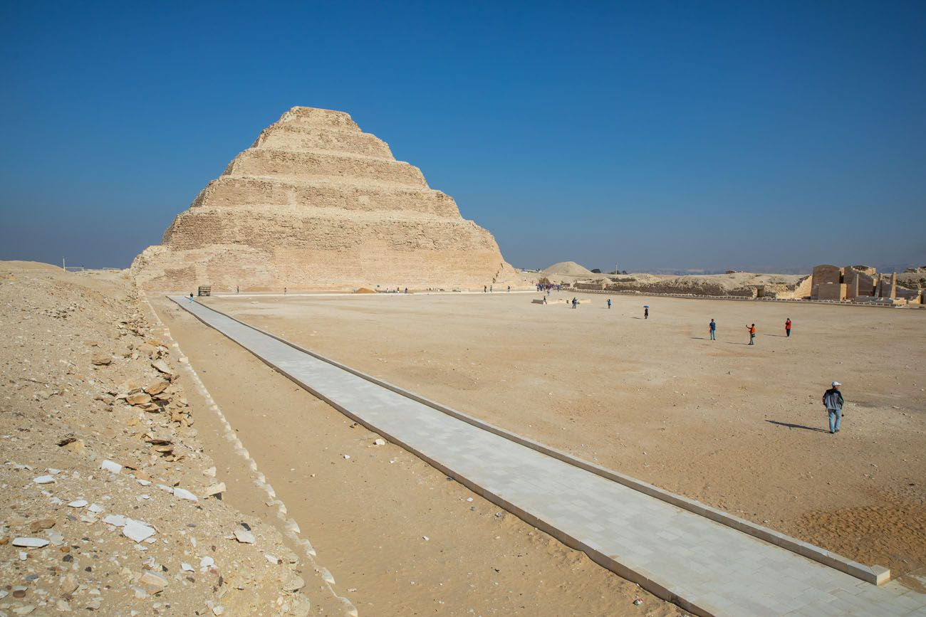 Step Pyramid Dahshur Memphis and Saqqara