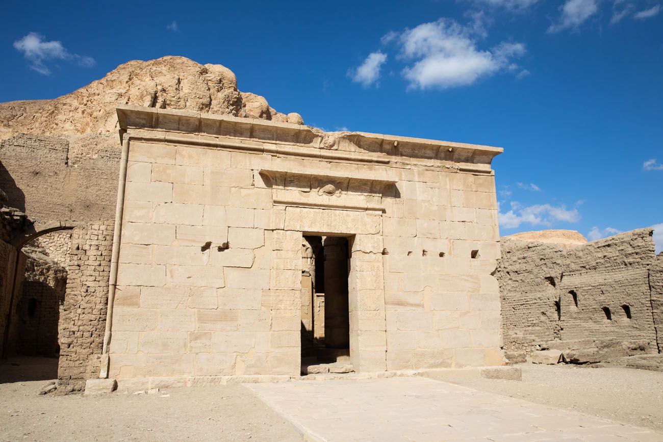 Temple of Deir el Medina