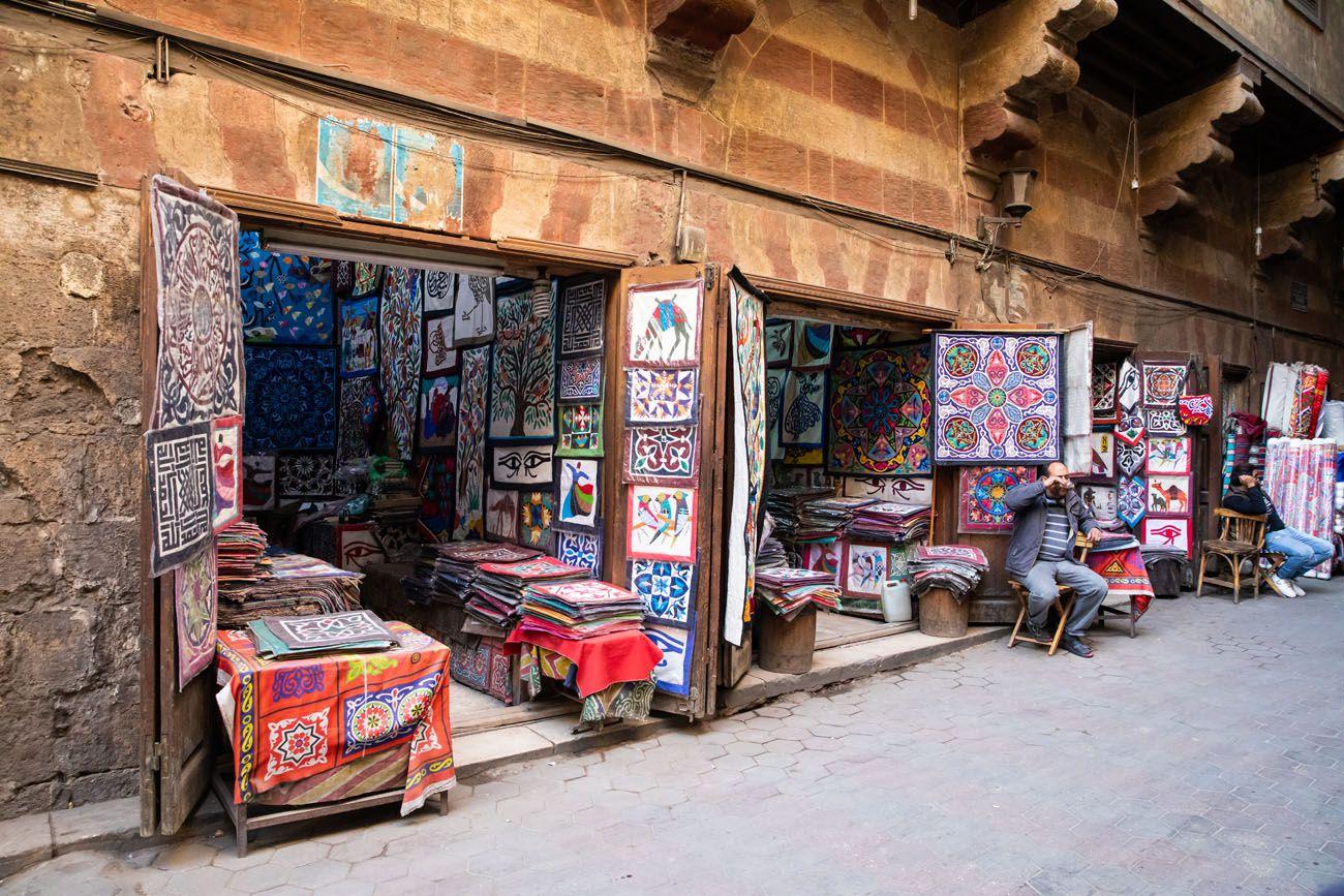 Tent Market Cairo