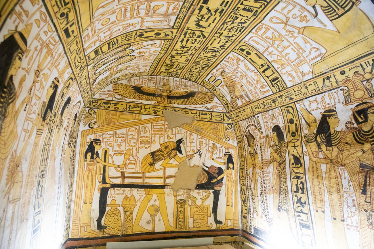 Tomb of Nakht Amun West Bank of Luxor
