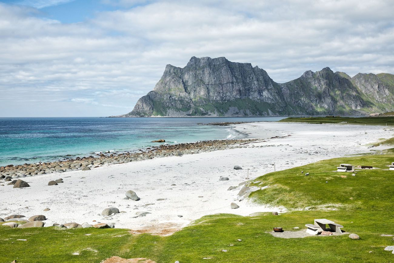 Uttakleiv Beach Lofoten Islands Itinerary