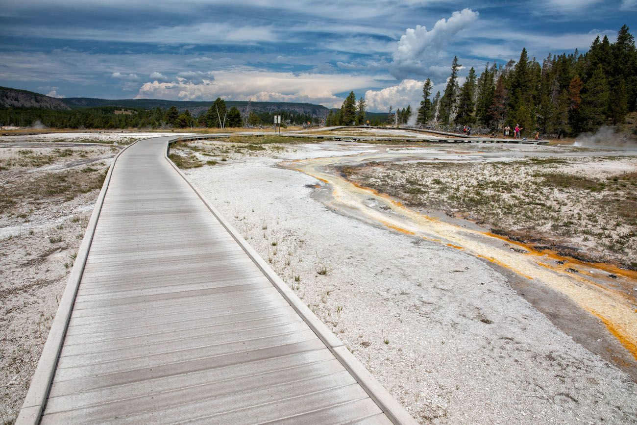 Yellowstone Boardwalk Trail
