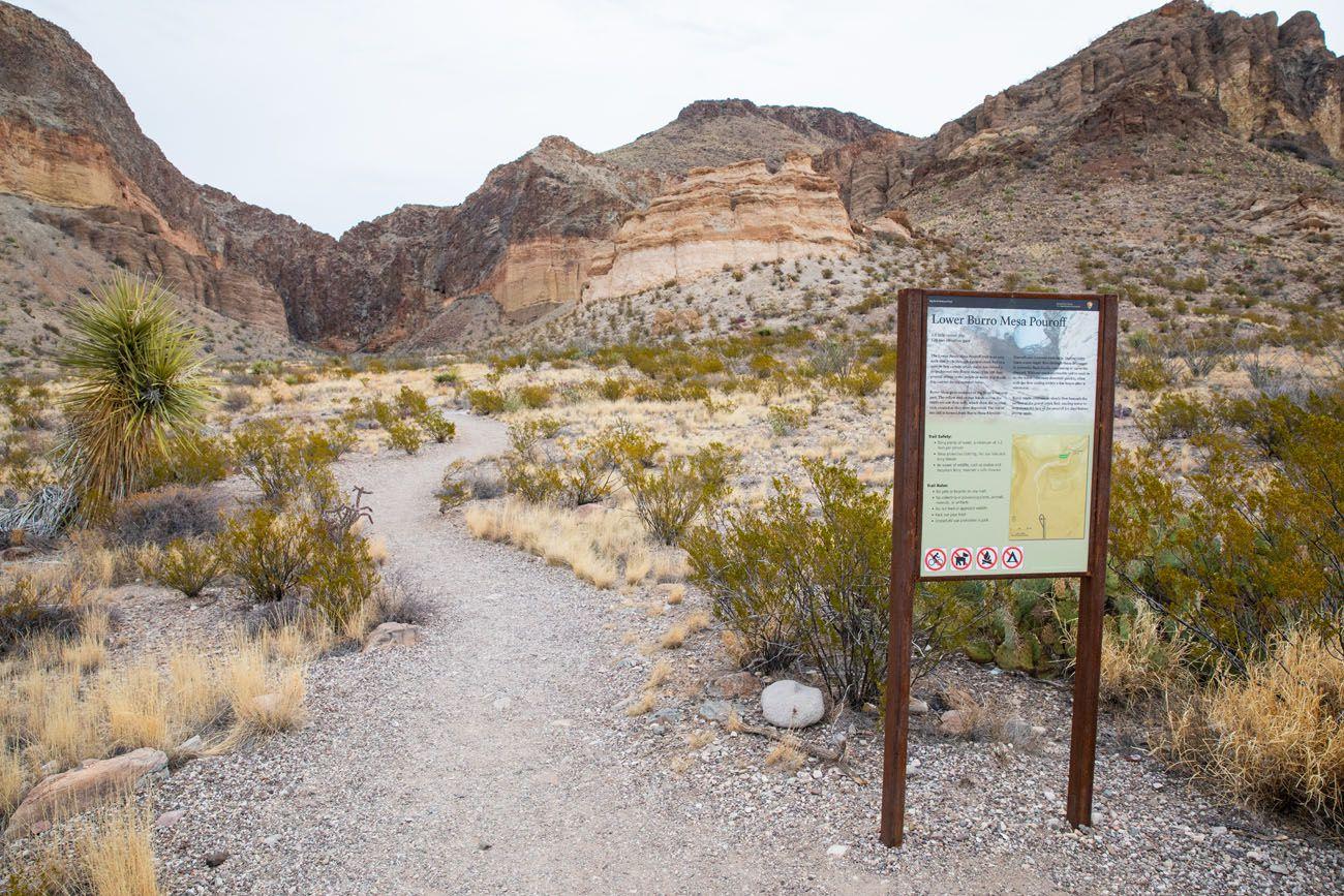 Best Hikes in Big Bend Burrow Mesa