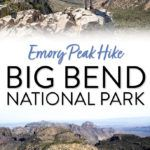 Big Bend National Park Emory Peak