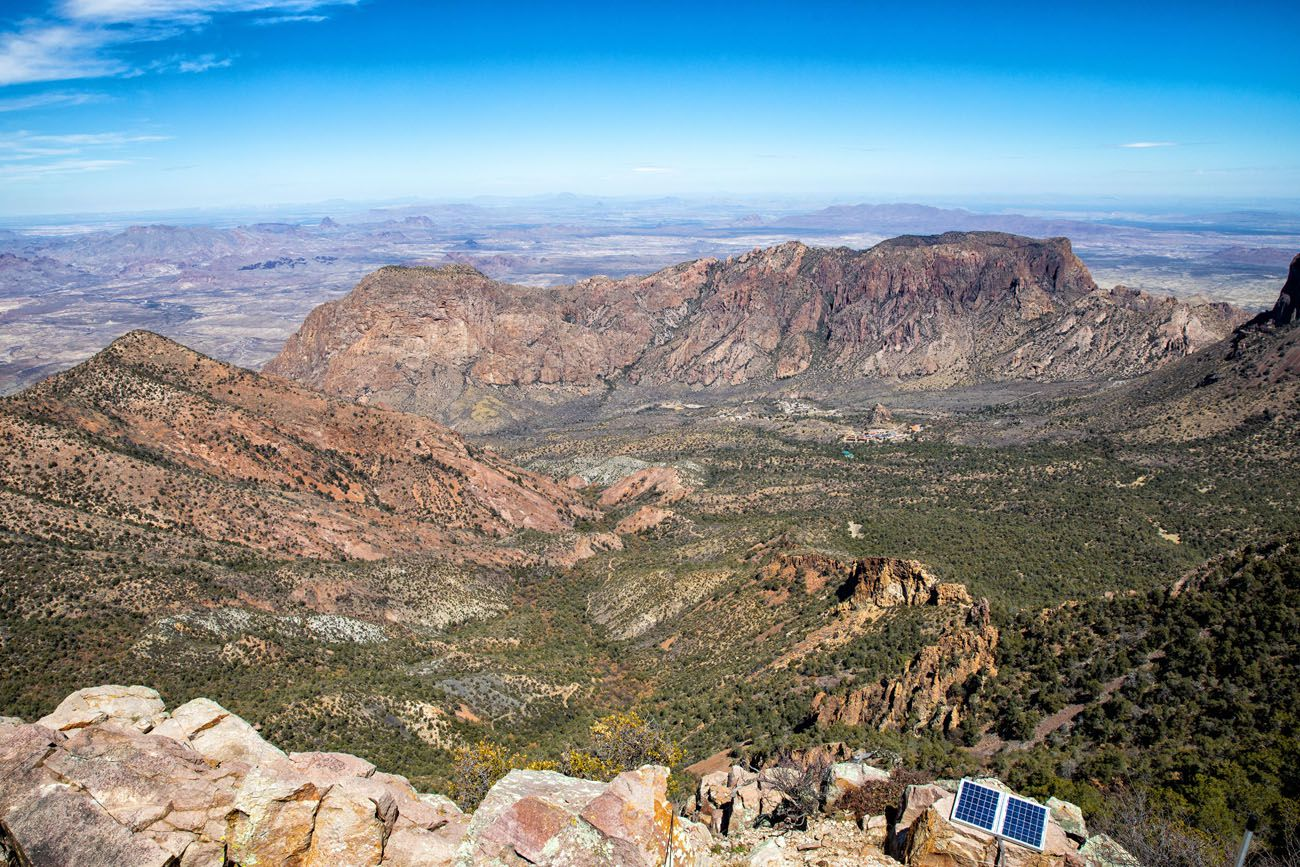 Chisos Basin View