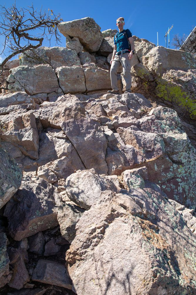 Emory Peak Rock Scrambling