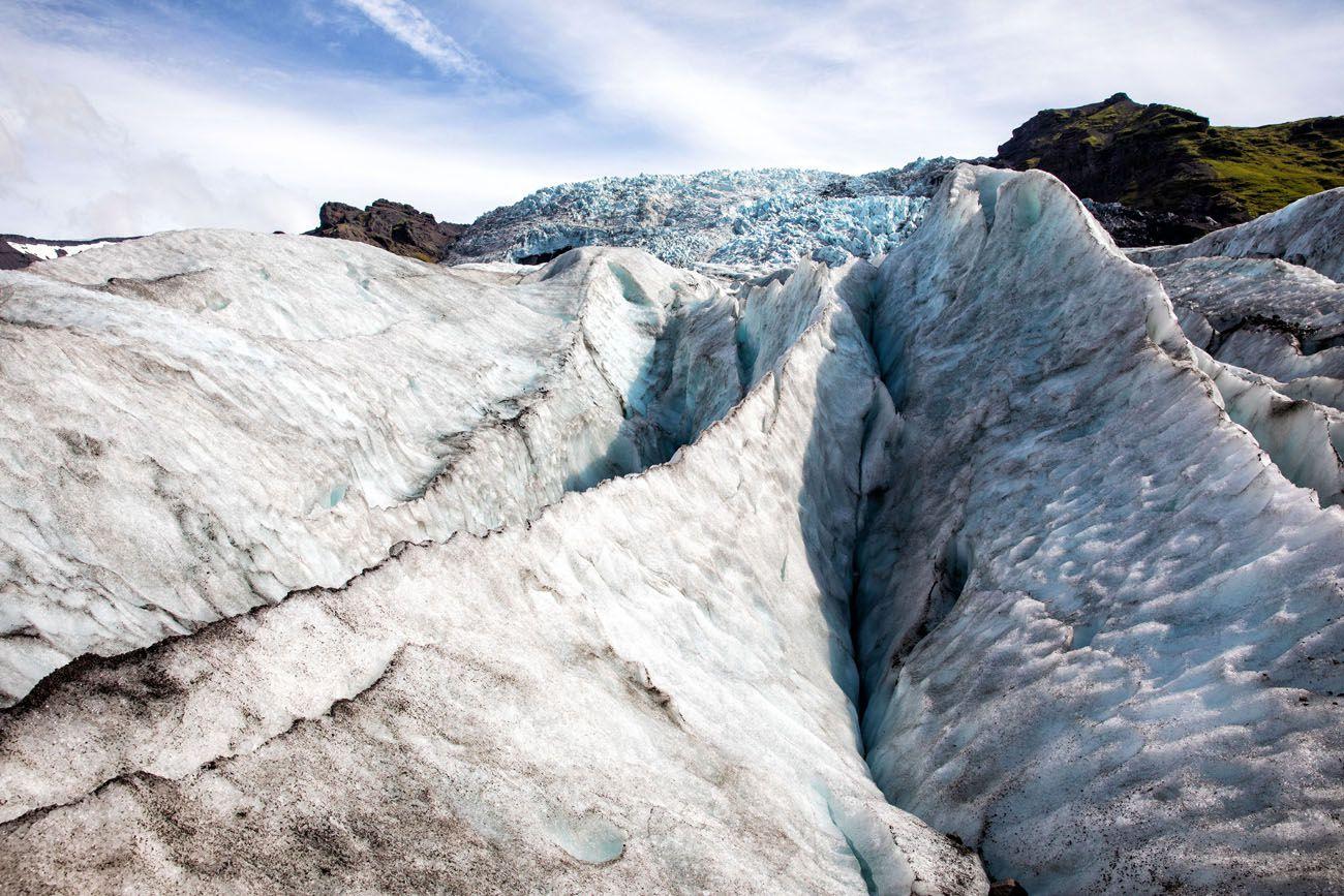 Falljökull outlet glacier