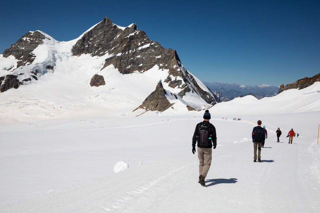 Jungfraujoch Hike