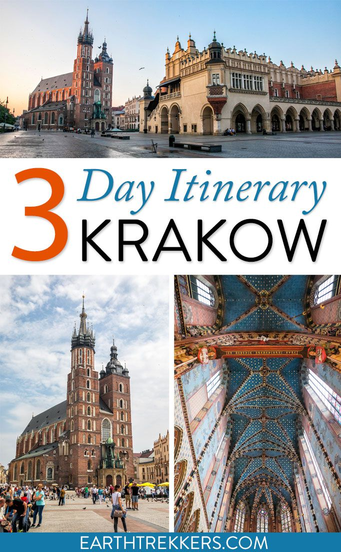 Krakow Poland Travel Itinerary