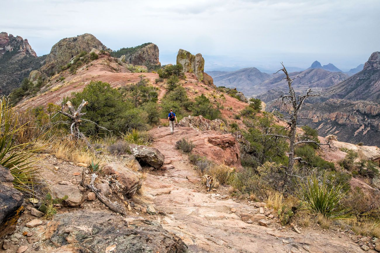 Lost Mine Best Hikes in Big Bend