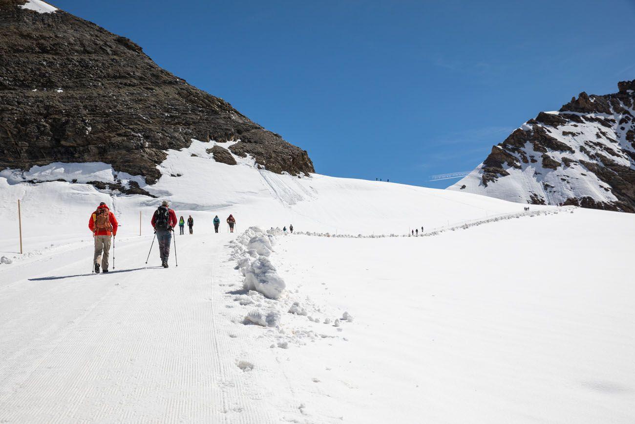 Monchsjochhutte Hike