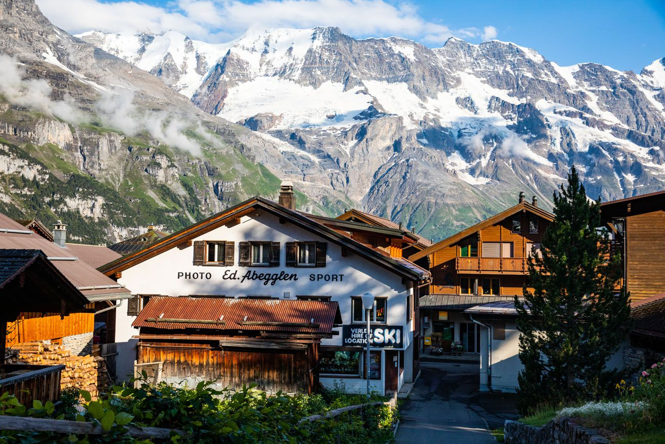 Murren and Mountains