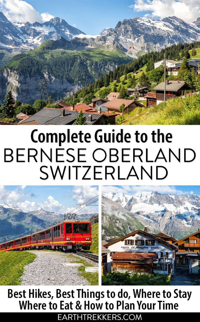 Switzerland Travel Guide Bernese Oberland