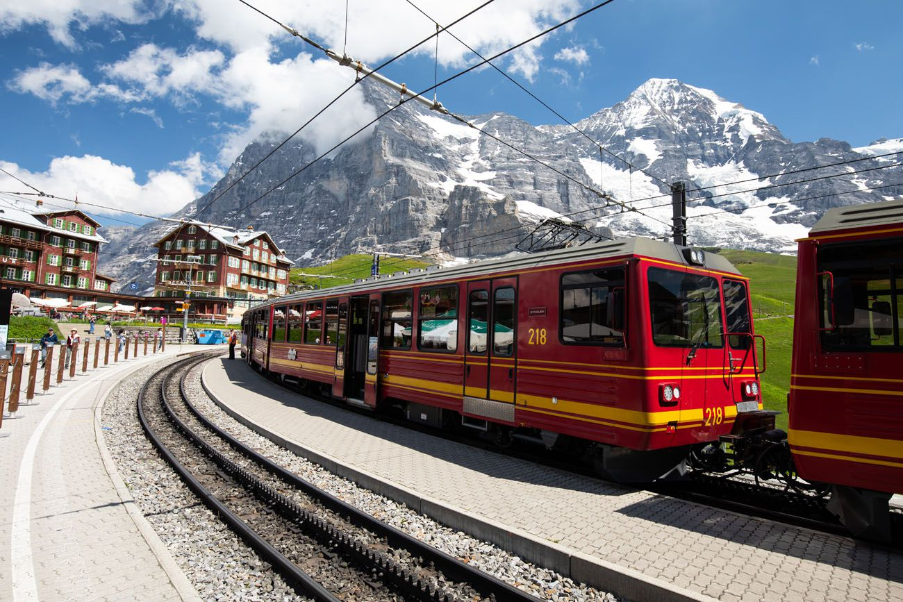 Train to Jungfraujoch Bernese Oberland