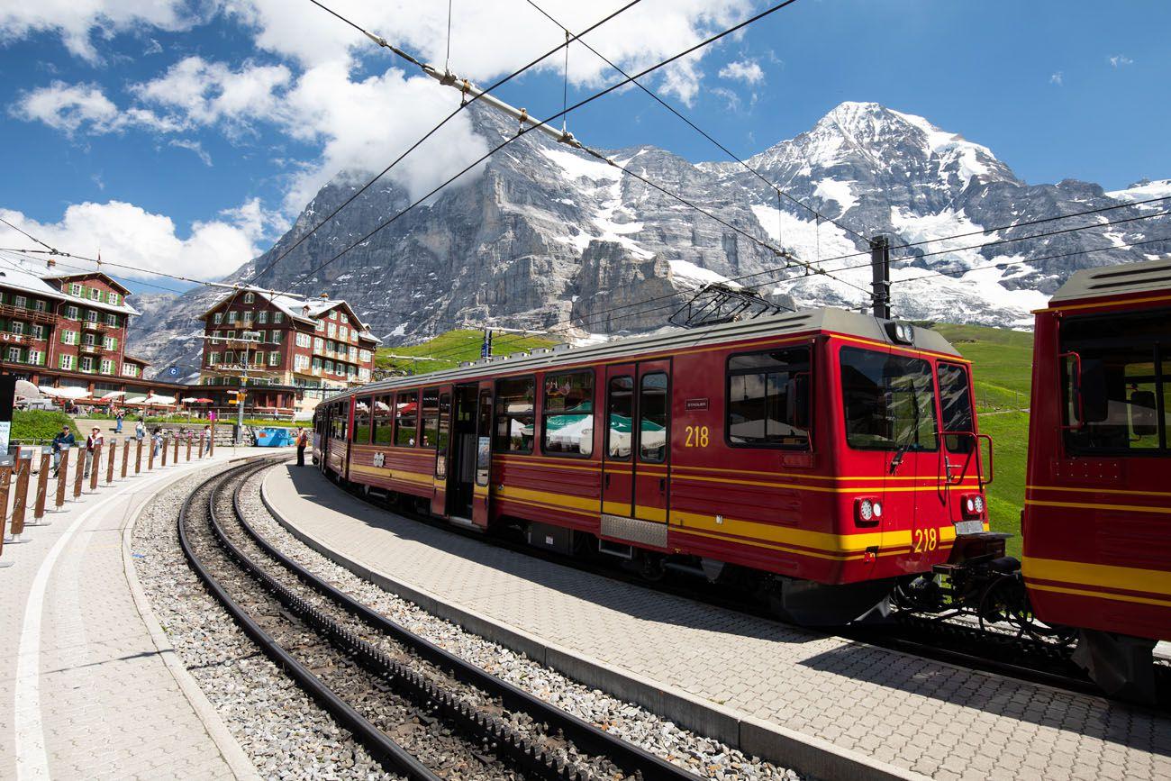 Train to Jungfraujoch Bernese Oberland