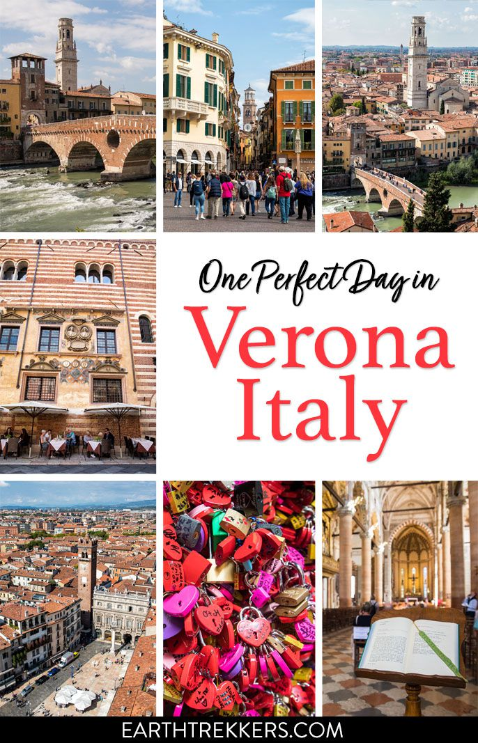 Verona Italy Itinerary