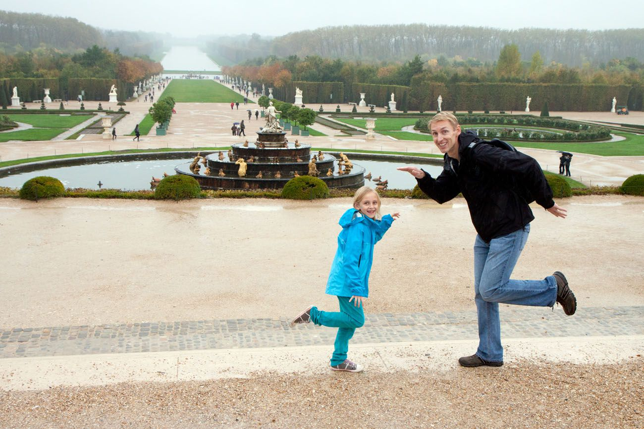 Versailles with Kids