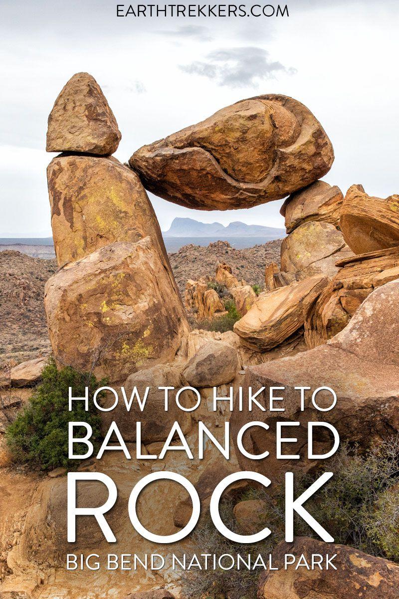 Big Bend Hike Balanced Rock