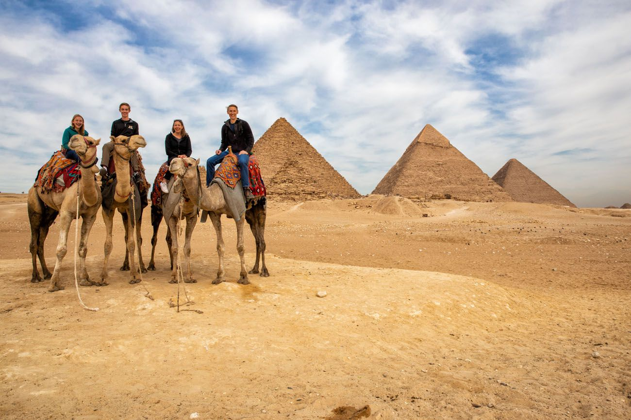 Camel Ride Pyramids of Giza