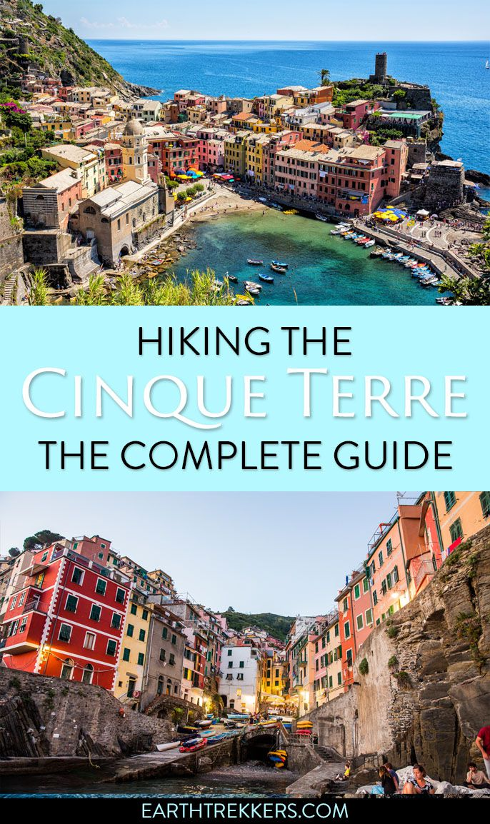 Cinque Terre Italy Travel Guide