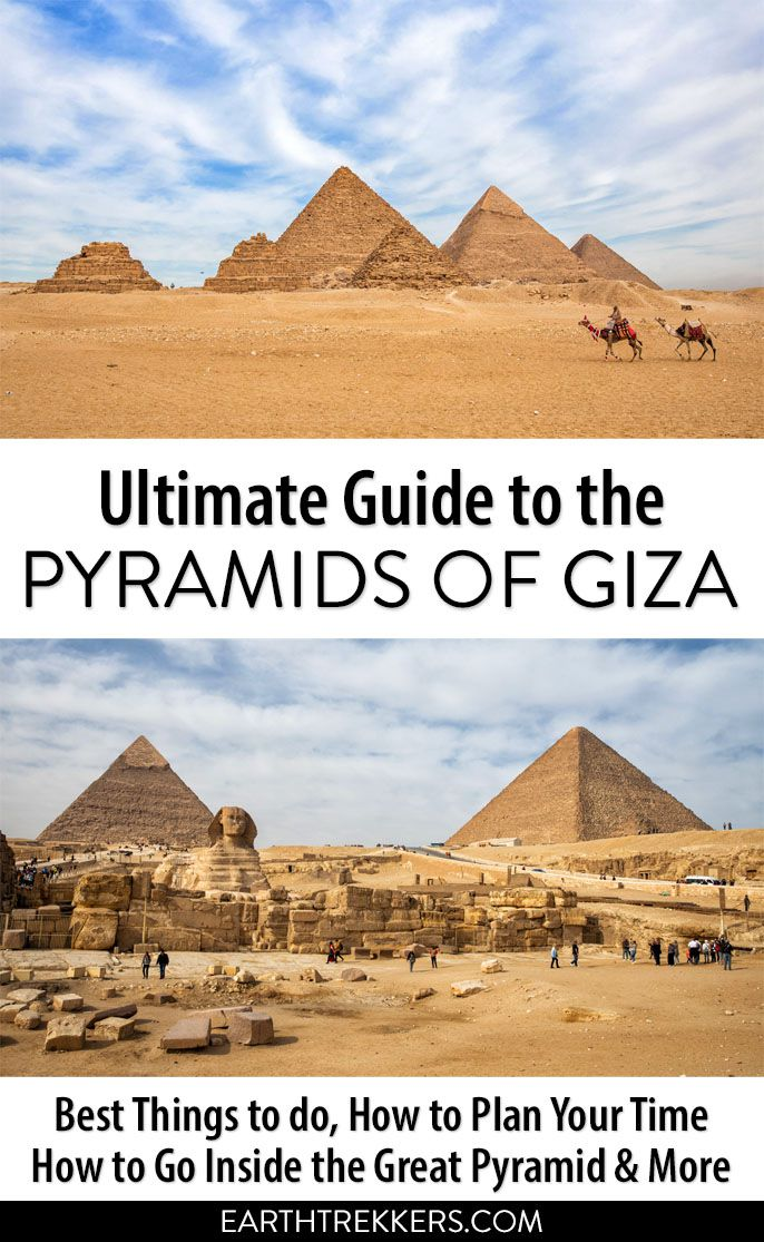Egypt Pyramids of Giza Travel Guide