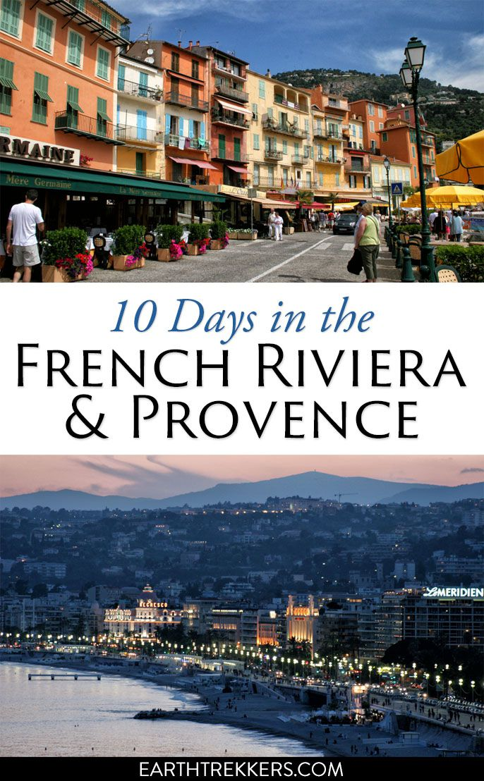 French Riviera Provence Itinerary