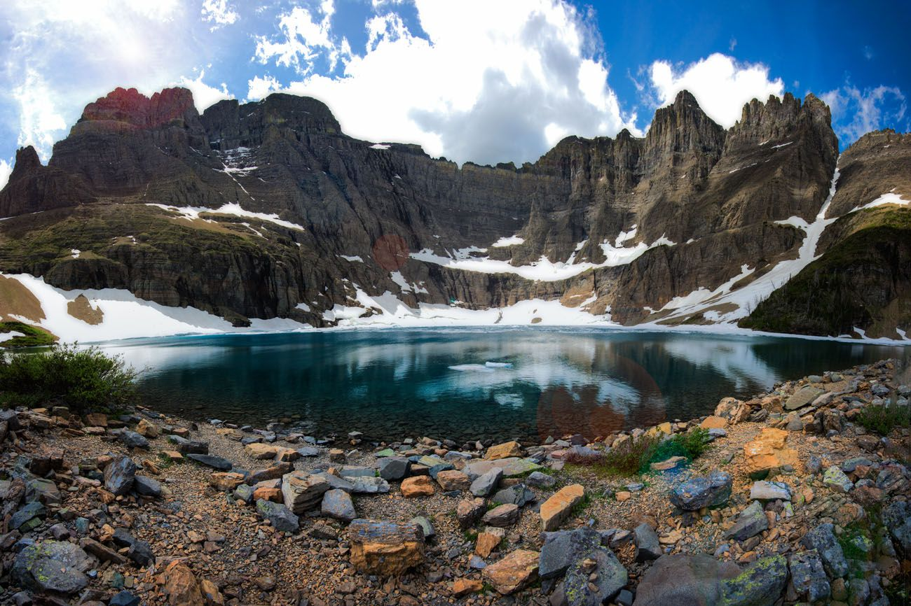 Iceberg Lake best hikes in Glacier National Park