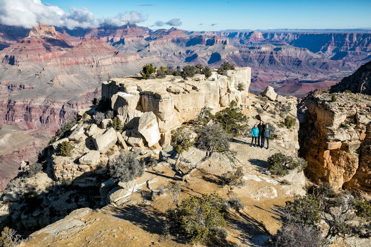 Grand Canyon in December Arizona road trip itinerary