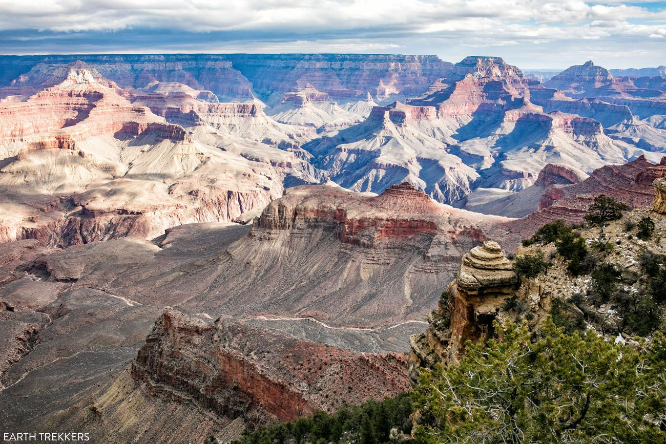 Grand Canyon Arizona road trip itinerary