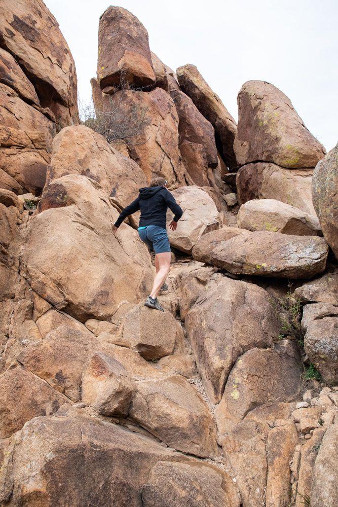 Hike Balanced Rock Texas