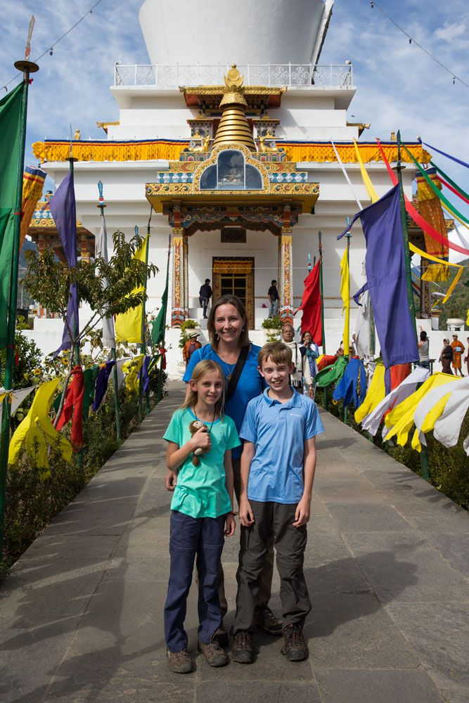 Julie Tyler Kara in Bhutan