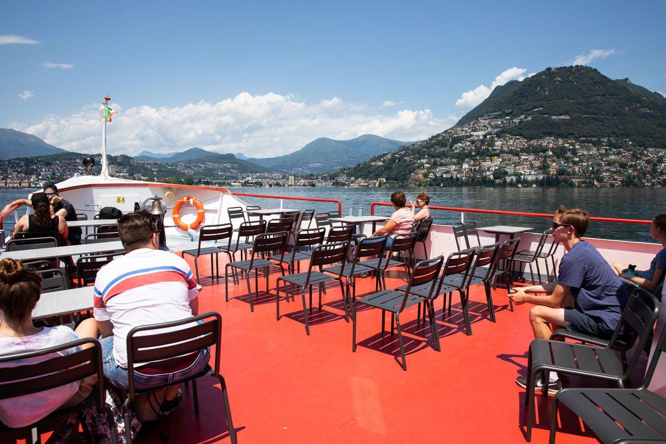 Lugano Boat Cruise