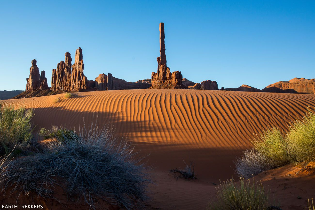Monument Valley Arizona road trip itinerary