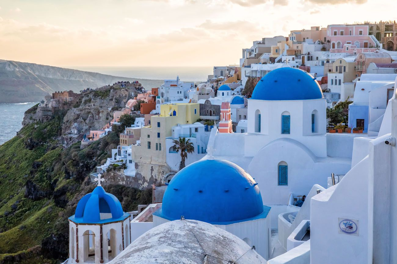 Oia Where to Stay in Santorini