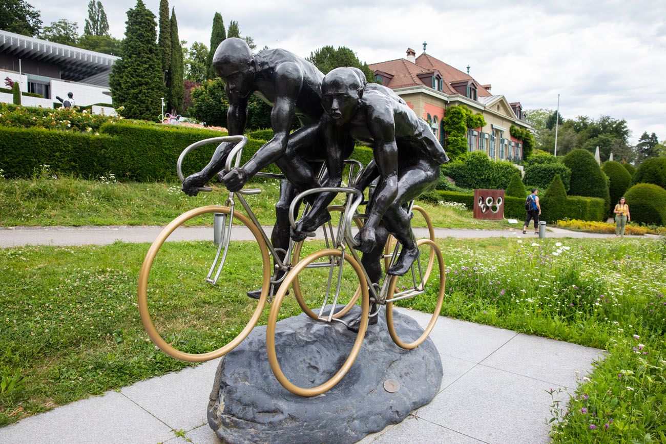 Olympic Museum Cyclists