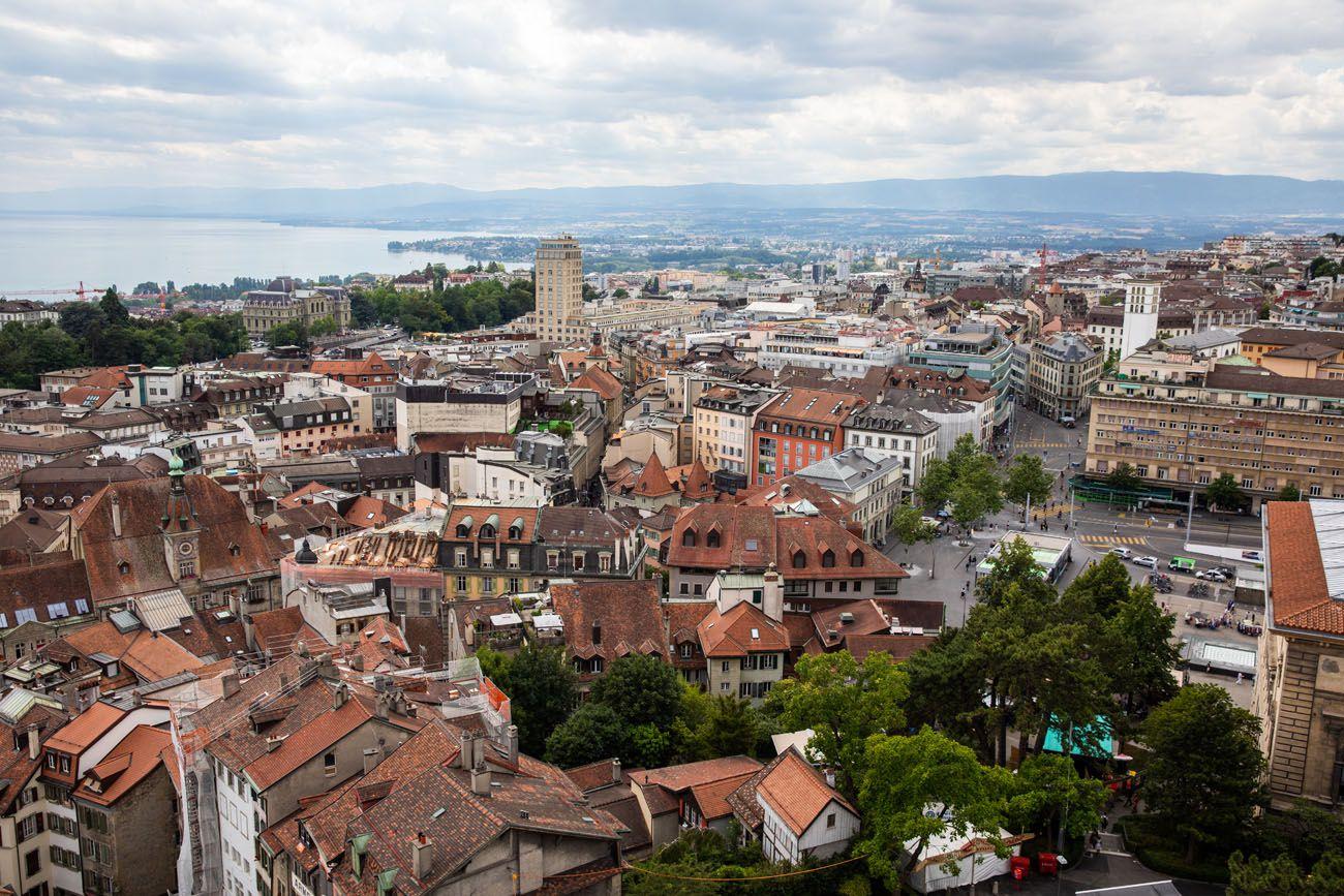 Overlooking Lausanne
