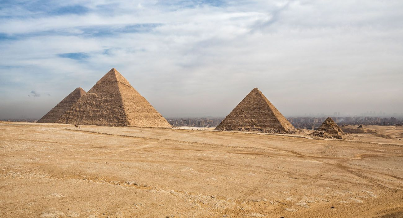 Panoramic Point Egypt Pyramids