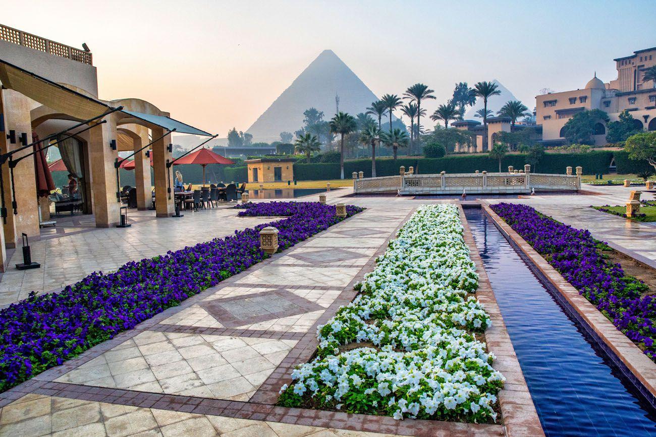 Pyramid Hotel View