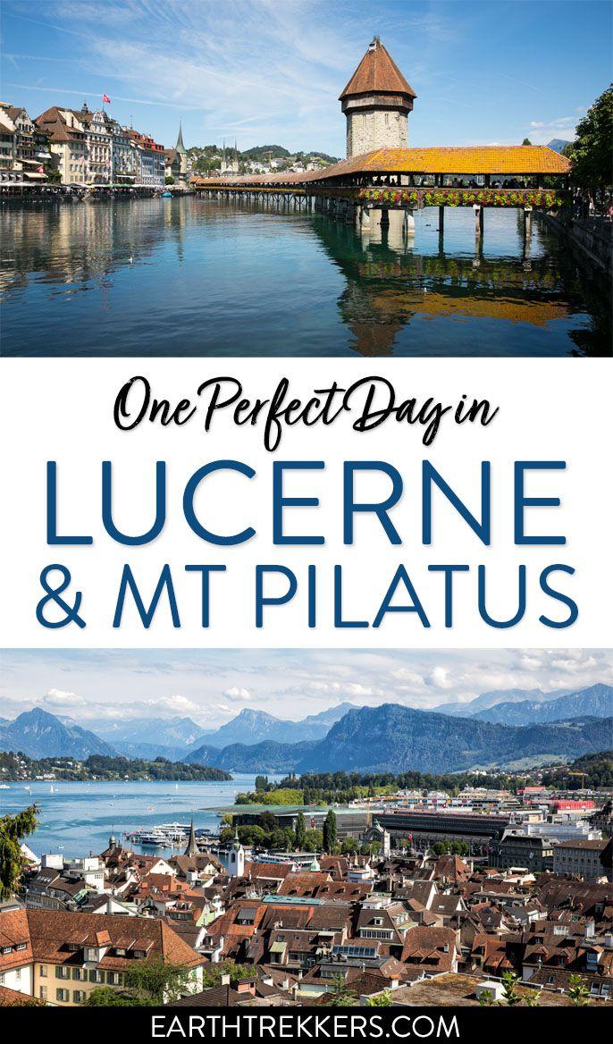 Switzerland Travel Lucerne Mt Pilatus