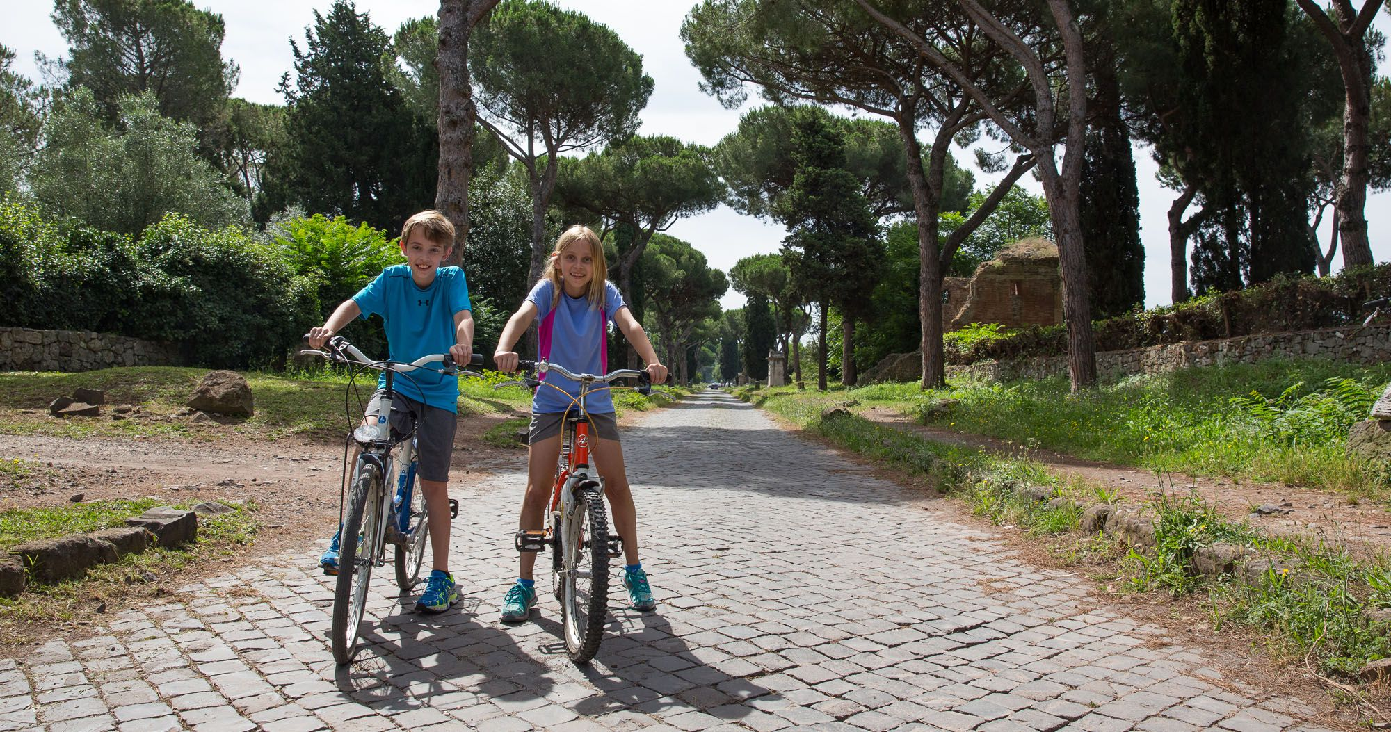 Appian Way with Kids