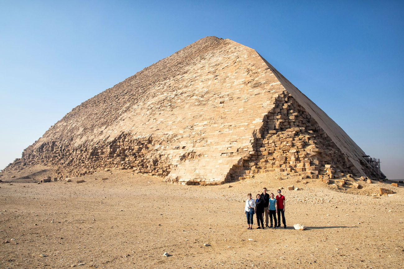 At the Bent Pyramid