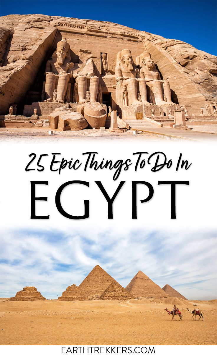 Best things to do in Egypt pin