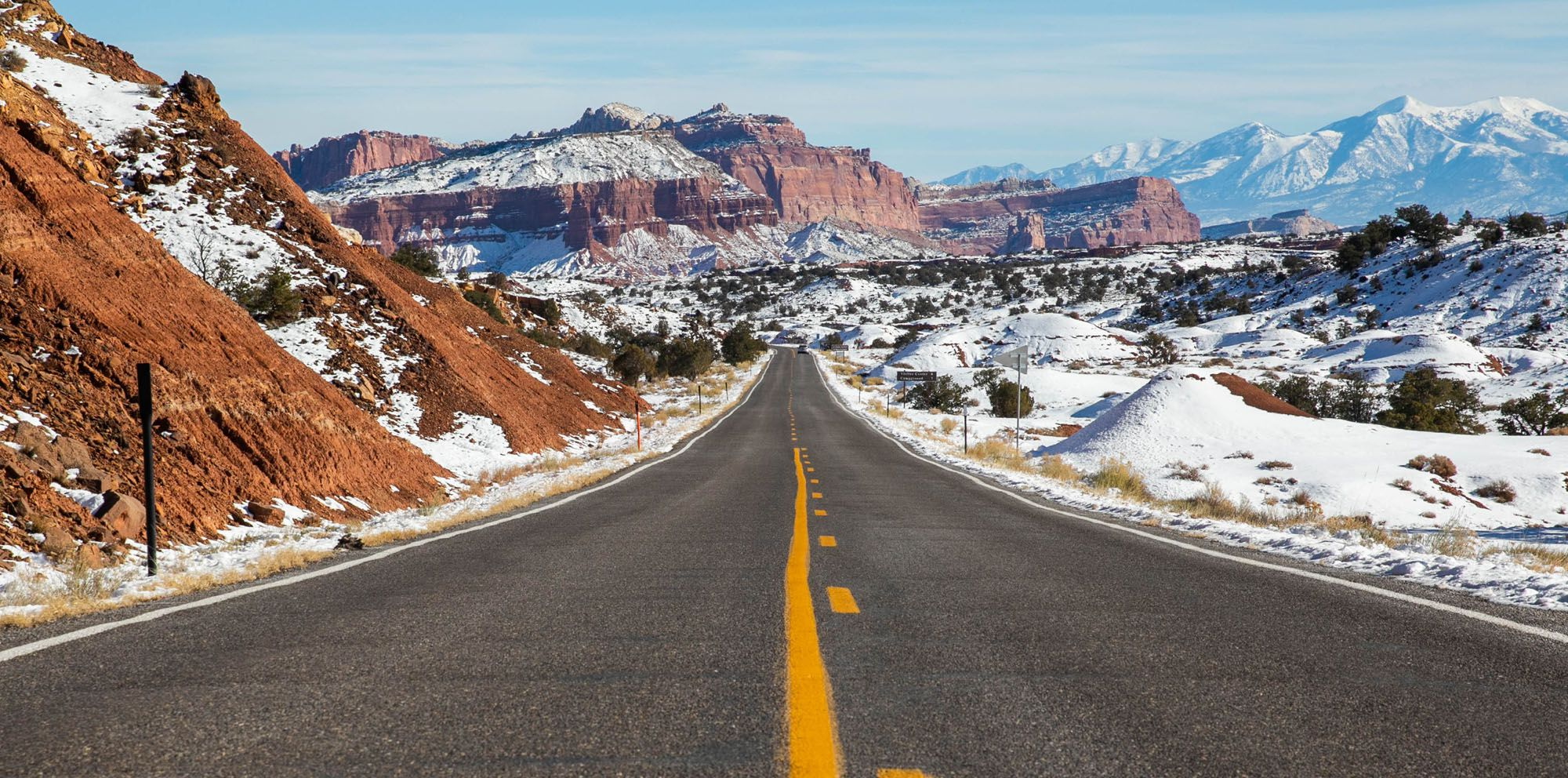 Capitol Reef in Winter